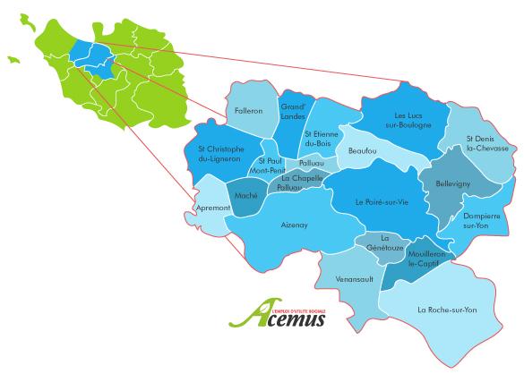 Carte secteur Acemus