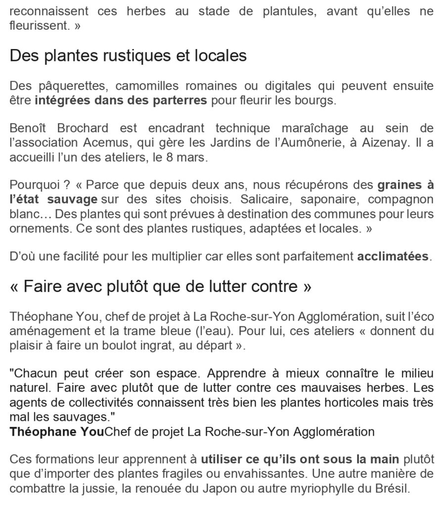Article Pays Yonnais